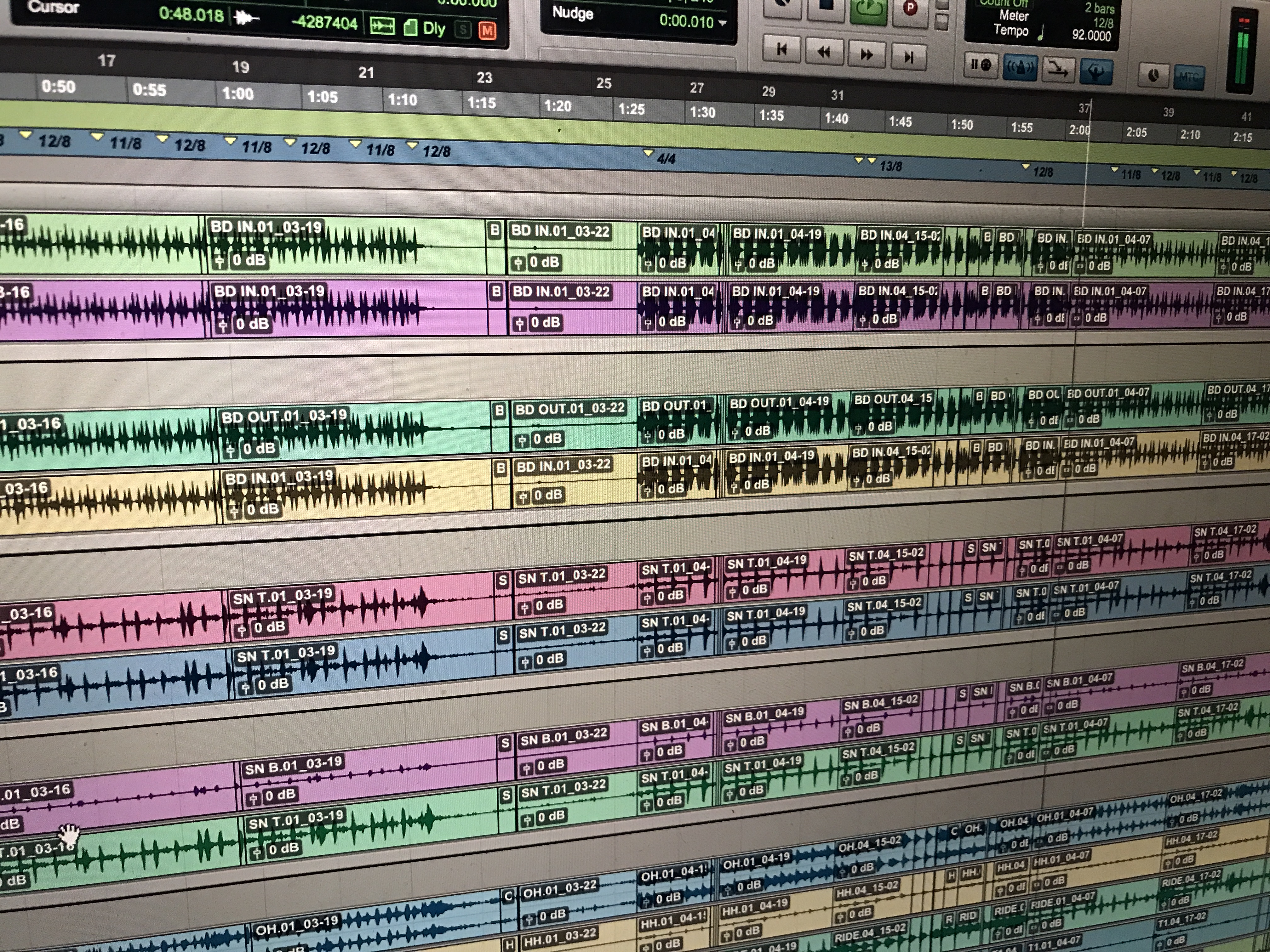 Tempo changes
